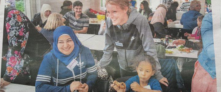 Sommerfest 2019 – Flygtninge hjælper nye flygtninge